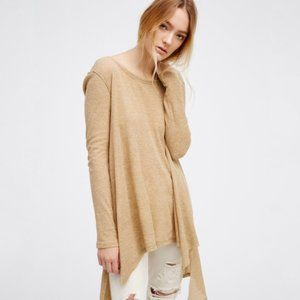 Free People The Incredible Tee Thermal Oversized L
